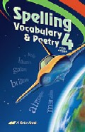 Spelling Vocabulary & Poetry 4, 5th ed., student