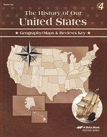 History of Our United States 4, 4th ed., Map-Review Key