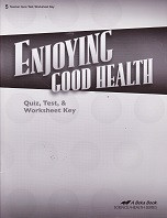 Enjoying Good Health 5, Quiz-Test-Worksheet Key