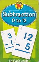 Brighter Child Subtraction 0-12 Flash Cards