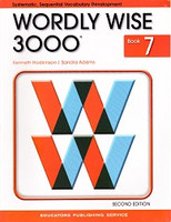 Wordly Wise 3000, Book 7; 2d ed., workbook & Teacher Resourc