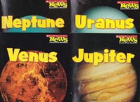 Set of 4 Space Science Planets Nonfiction Readers