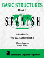Learnables: Spanish 1 Book & 3 CDs: Basic Structures Set