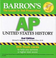 Barron's AP United States History, 2d ed., 500 Flash Cards