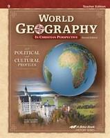 World Geography 9, 2d ed., Teacher Edition