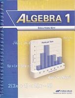 Algebra 1 (9), Solution Key
