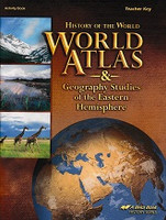 History of the World 7, Atlas & Geography Eastern Key