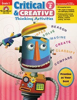 Critical & Creative Thinking Activities, Grade 2