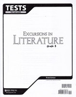 Excursions in Literature 8, 3d ed., Test Key