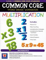 Common Core Third Grade Multiplication workbook