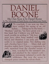 Daniel Boone, His Own Story & Adventures of Daniel Boone