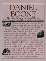 Daniel Boone, His Own Story & Adventures of Daniel Boone