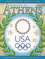 Journey to Athens Activities Book, Grades 4-8