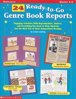 24 Ready-to-Go Genre Book Reports, Grades 4-6