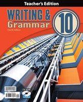 Writing & Grammar 10, 4th ed., Teacher Edition & CDRom Set