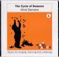 MusikGarten Cycle of Seasons Wind Dancer 1 CD