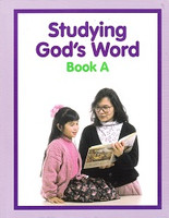 Studying God's Word A (K), student