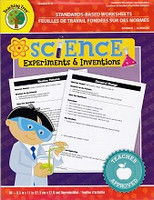Teaching Tree Science Experiments & Inventions Worksheets
