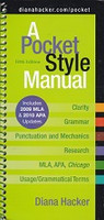 Pocket Style Manual, 5th ed., 2009 MLA and 2010 APA updates