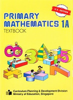 Singapore Primary Mathematics 1A Textbook, U.S. Edition