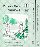 We Learn About God 1, Unit 1, 2-3, 4-5, 3 Vol Teacher Manual
