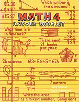 Teaching Textbooks Math 4 Answer Booklet