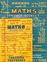 Teaching Textbooks Math 5 CD-Roms & Answer Booklet Set
