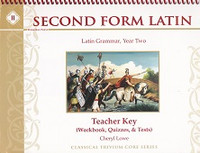 Second Form Latin, Teacher Key