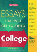 Barron's Essays that will Get You Into College, 2d ed.