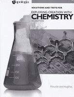 Apologia Exploring Creation with Chemistry, 3d ed., Key