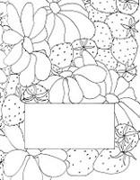 Flowers & Berries Sketch Book-Journal