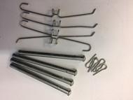 Brake Caliper Kit, Hardware-pins/clips