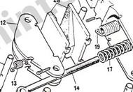 CT5535 Handbrake Pads-Set