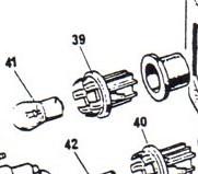 54577578 Single Pin Holder-rev/flash