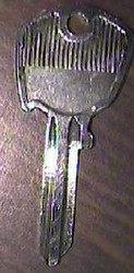 Ignition Key, non rubber head