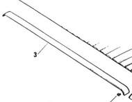 Header Rail Trim 75959 Used