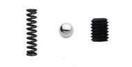 "Steel ball, Coil Spring, and Set Screw for 10 - 24"" Chuck"