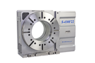 Samchully S-430i rotary indexer with standard right-hand motor