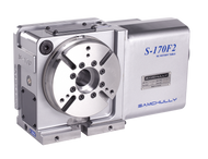 Samchully S-170i rotary indexer with standard right-hand motor