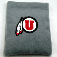 Utah Utes Fleece Rice Heating Pad Front View