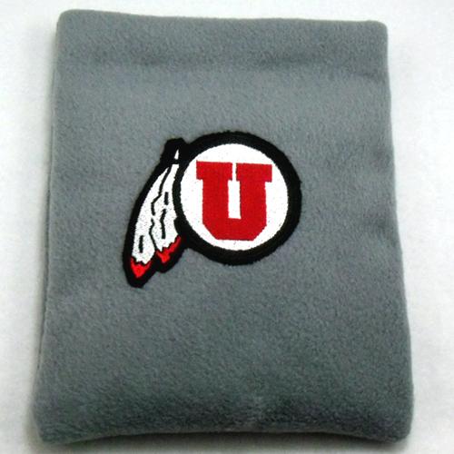 Utah Utes Fleece Rice Heating Pad Front View