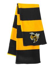 Georgia Tech Bee Black/Gold Sportsman Knit Scarf