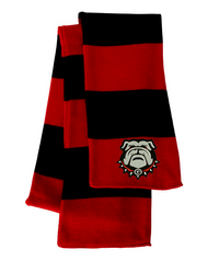 Georgia Bulldogs Red/Black Sportsman Knit Scarf