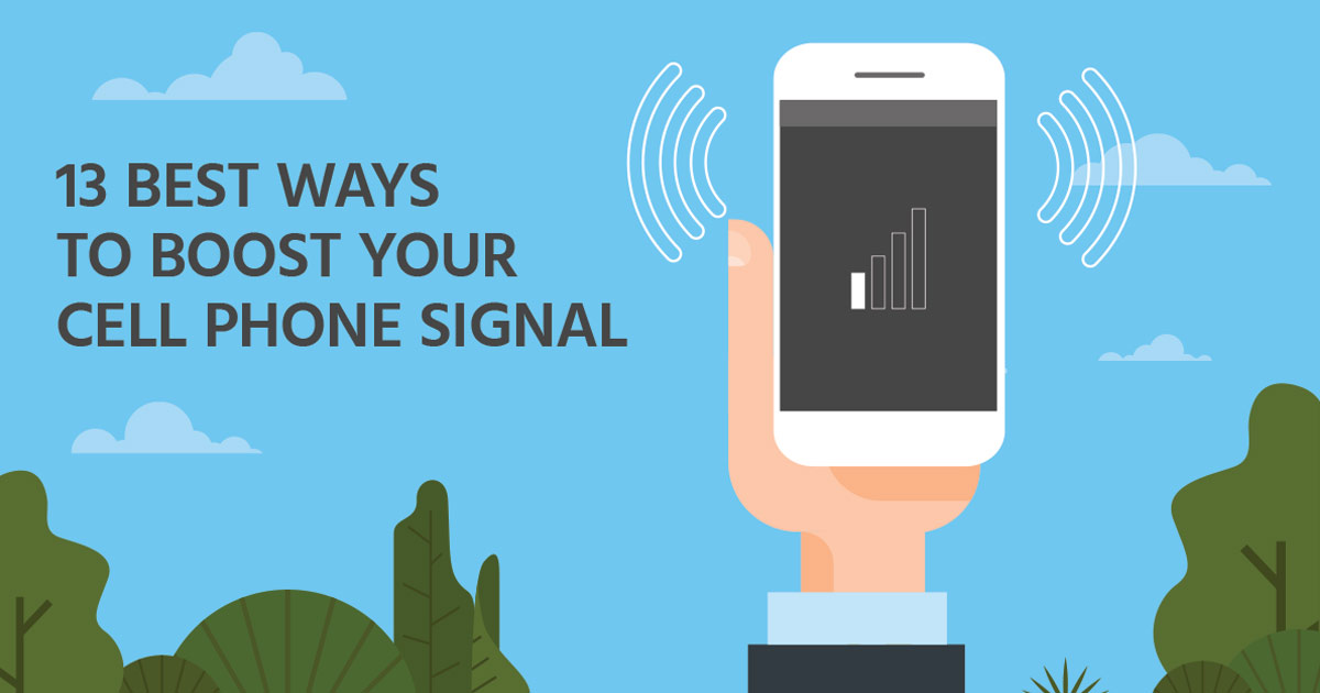 13 Best Ways to Boost Your Cell Phone Signal - Wilson Amplifiers Canada
