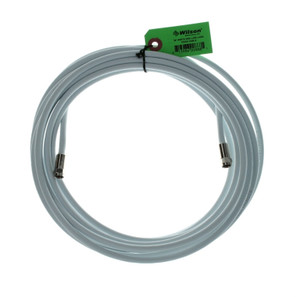 950630 Wilson 30-Foot RG-6 Low-Loss White Coaxial Cable F-Male / F-Male, main