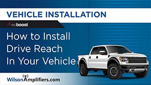 Drive Reach installation