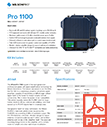 Pro 1100 Spec Sheet