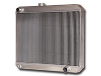 "1966-1967 Chevrolet Bel Air/ Impala (17.5"" Core, w/ Factory Air) Aluminum Radiator"