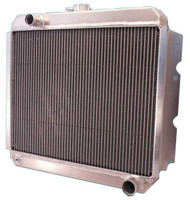 "1970-73  22"" Mopar Applications Aluminum Radiator"