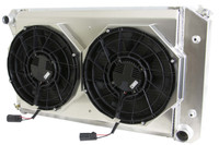 "26.25"" Various GM Applications Aluminum Radiator w/ BRUSHLESS FANS"